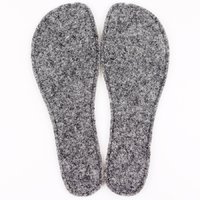 MOON - Felted wool removable insoles