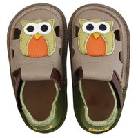 OUTLET Barefoot kids sandals - Summer owl