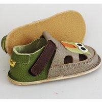 OUTLET Barefoot kids sandals - Classic Summer owl