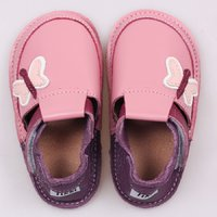 OUTLET - Barefoot kids shoes - Classic Butterflies