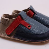 OUTLET - Barefoot kids shoes - Classic Deep Blue