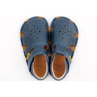 OUTLET - Barefoot sandals - Aranya Blue 19-23 EU