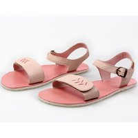 OUTLET - 'FUNKY VIBE' barefoot women's sandals - Blushing Pink