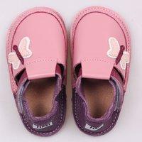 OUTLET - Pantofi Barefoot copii - Classic Fluturi