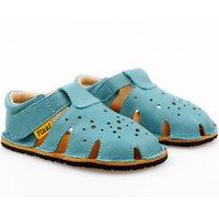OUTLET Sandale Barefoot - Aranya Turquoise 19-23 EU
