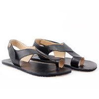 OUTLET - 'SOUL' barefoot women's sandals - Black