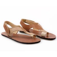 OUTLET - 'SOUL' barefoot women's sandals - Caramel