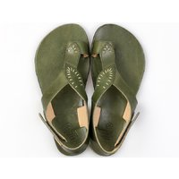 OUTLET - 'SOUL' barefoot women's sandals - Green