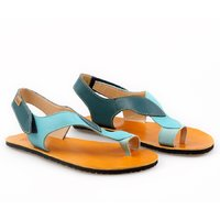 OUTLET - 'SOUL' barefoot women's sandals - Waves