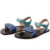 OUTLET - 'VIBE' barefoot women's sandals - Blue
