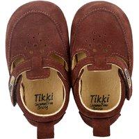 Pantofi primii pasi POUF – Brownie - EDITIE LIMITATA