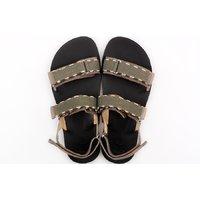 Sandale barbati barefoot- MOSS - Gray