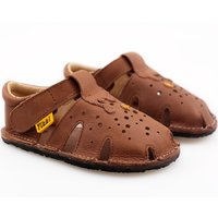 Sandale Barefoot - Aranya Chocolate 19-23 EU