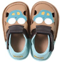 Sandale Barefoot copii - Aventuri cu mașina