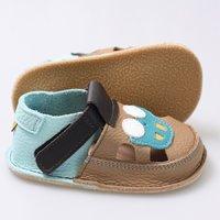 Sandale Barefoot copii - Classic Aventuri cu mașina