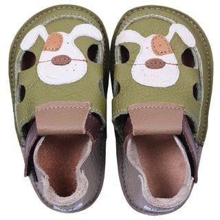 Sandale Barefoot copii - Classic Cățel zâmbăreț