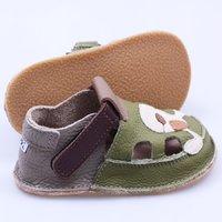 Sandale Barefoot copii - Cățel zâmbăreț