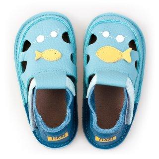Sandale Barefoot copii - Classic Peștisorul Auriu