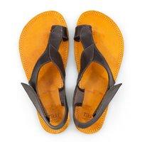 Sandale Barefoot cu baretă pe deget - Stone - în stoc