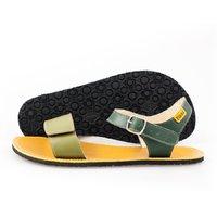 Sandale cu baretă ajustabilă - Olive & Mustard - în stoc