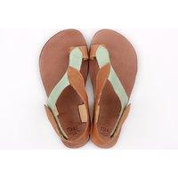 Sandale damă barefoot 'SOUL' -  Mint Camel