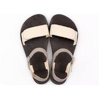 Sandale damă barefoot 'VIBE' - Cream