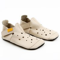 Soft soled shoes - Ziggy Cream 36-40 EU