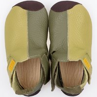 Soft soled shoes - Ziggy Green Duo 19-23EU