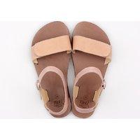 'VIBE' barefoot women's sandals - Peach