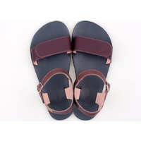 'VIBE' barefoot women's sandals - Purple Rain