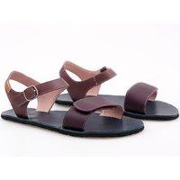 'VIBE' barefoot women's sandals - Purple Rain