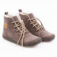 Water-repellent wool boots - Beetle Almond 19-23 EU